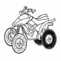 Les differents pneus pour quad TGB Blade 550 LT 4WD