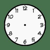 Purzen Clock Face clip art vector, free vector graphics
