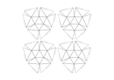 Free download of Hexagonal Sphere vector graphics and