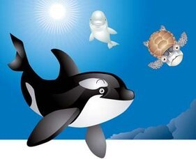 Free Humpback Whale Clipart in AI SVG EPS or PSD