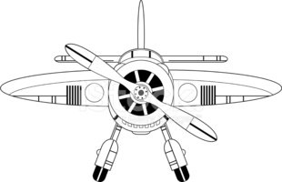 Aircraft Engine Front View, Aircraft, Free Engine Image