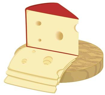 free slice of cheese 1 clipart