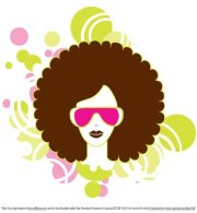 free afro woman clipart and vector