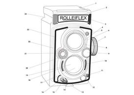 Free Vintage Camera Outlines Clipart and Vector Graphics