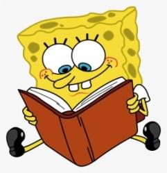 Cartoon Characters Spongebob Reading Book Png Cartoon Png Transparent Png Transparent Png Image PNGitem