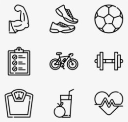 Fitness Icon PNG Images Transparent Fitness Icon Image Download PNGitem