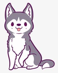 Hd Husky Clipart Kawaii Kawaii Cute Wolf Drawings Hd Png Download Transparent Png Image Pngitem