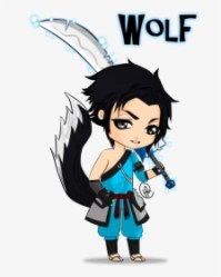 Cute Baby Wolf Drawings Easy Download Draw Anime Wolf Boy Easy HD Png Download Transparent Png Image PNGitem