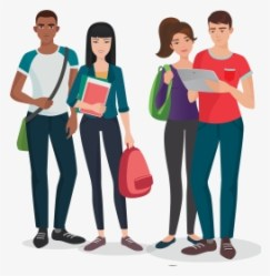 College Planning Cool University Students Characters HD Png Download Transparent Png Image PNGitem