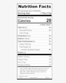 Birthday Chip Bag Nutrition Facts Png : birthday, nutrition, facts, Nutrition, Facts,, Download, Transparent, Image, PNGitem