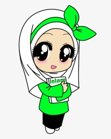 Download Kartun Anak Islami : download, kartun, islami, Kartun, Muslim, Perempuan,, Download, Transparent, Image, PNGitem