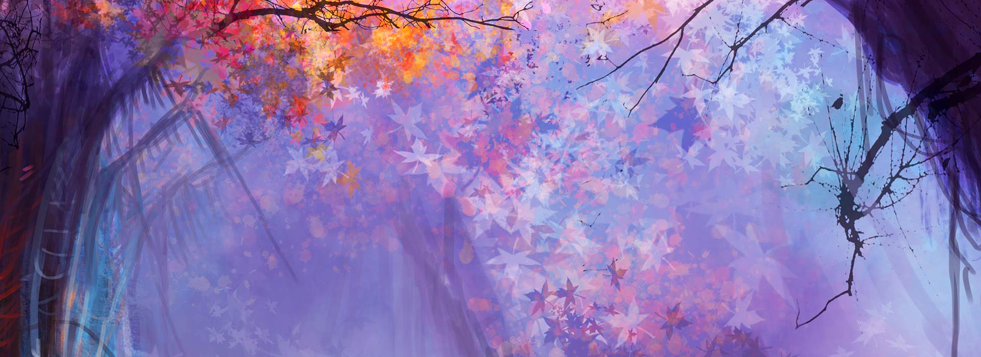 Cute Ribbons Wallpaper Magical Forest Background Myth Magic Forests Background
