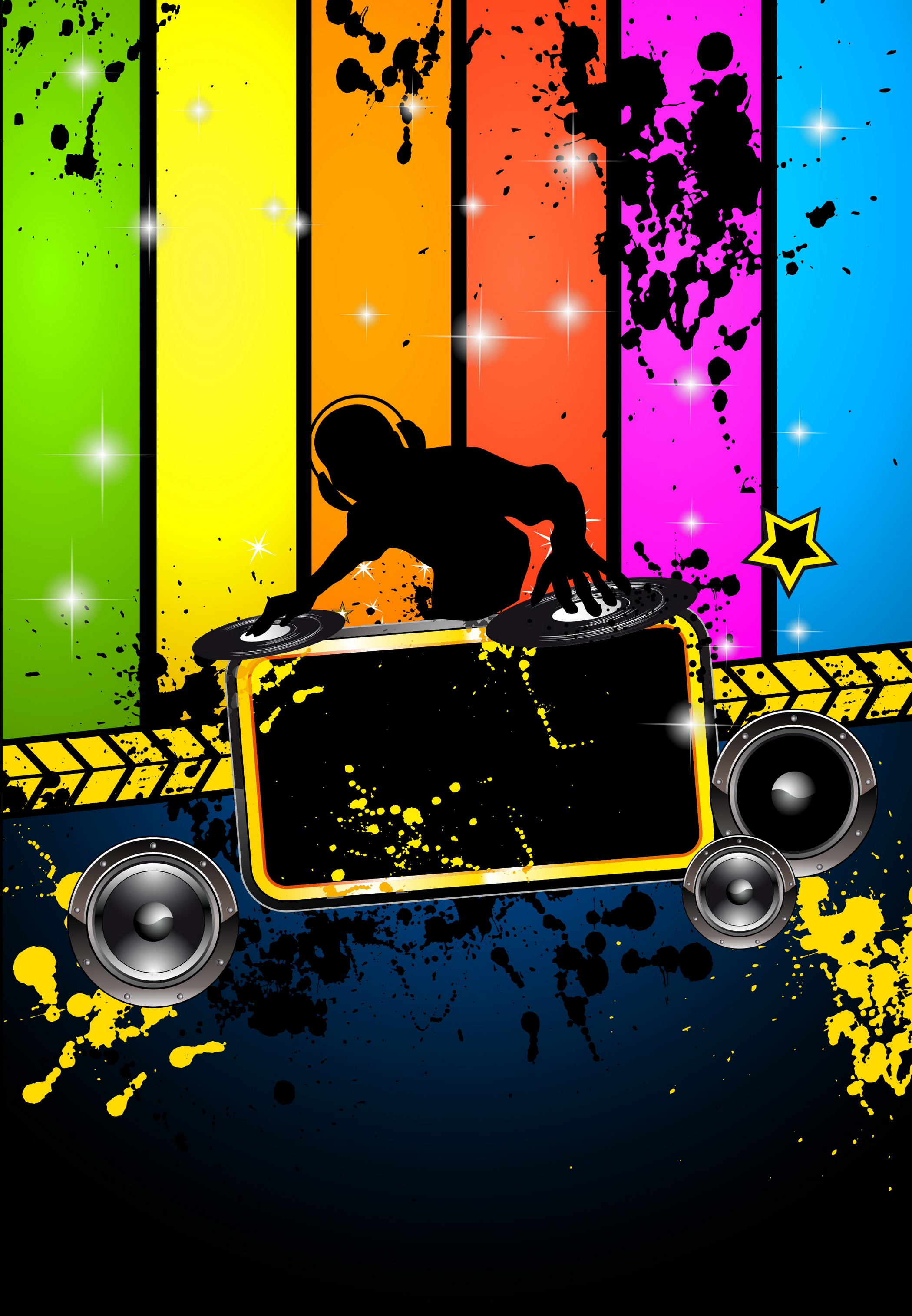 Rock Music Dj Background Image For Free Download