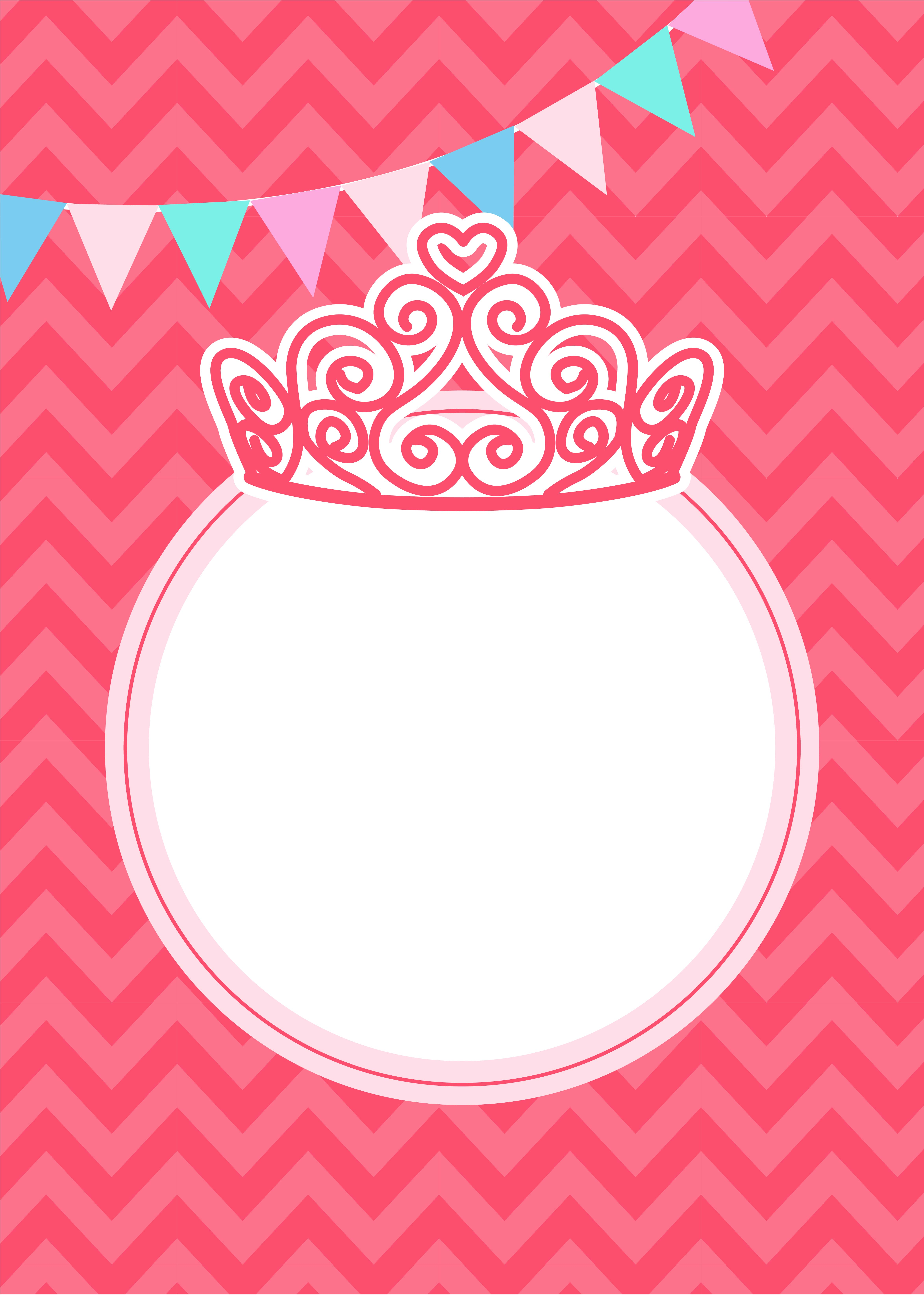 Fall Baby Animal Wallpaper Vector Pink Background Cartoon Girl Birthday Party Pink