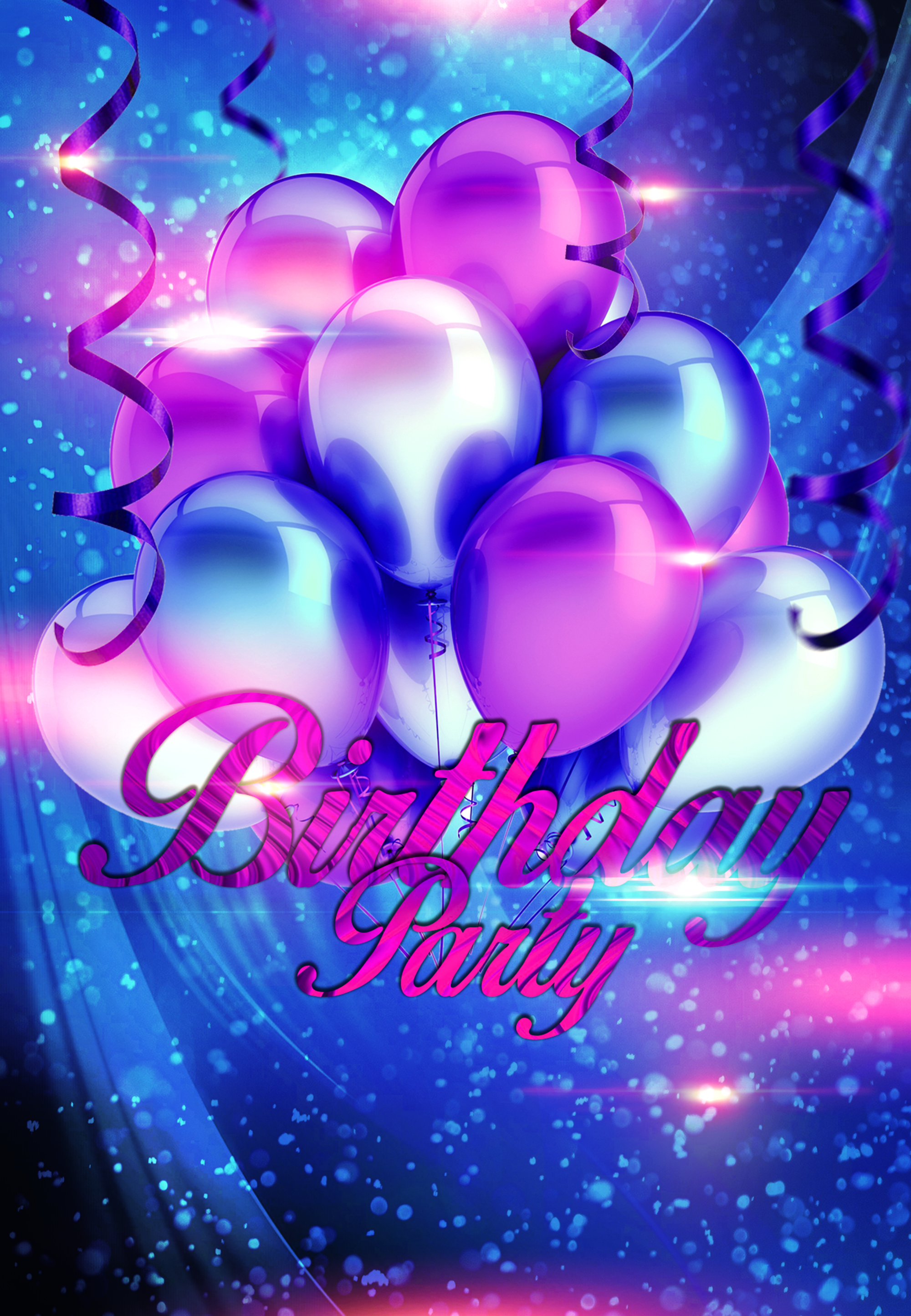 Free Fall Bc Nature Wallpaper Birthday Party Balloons Background Balloon Purple