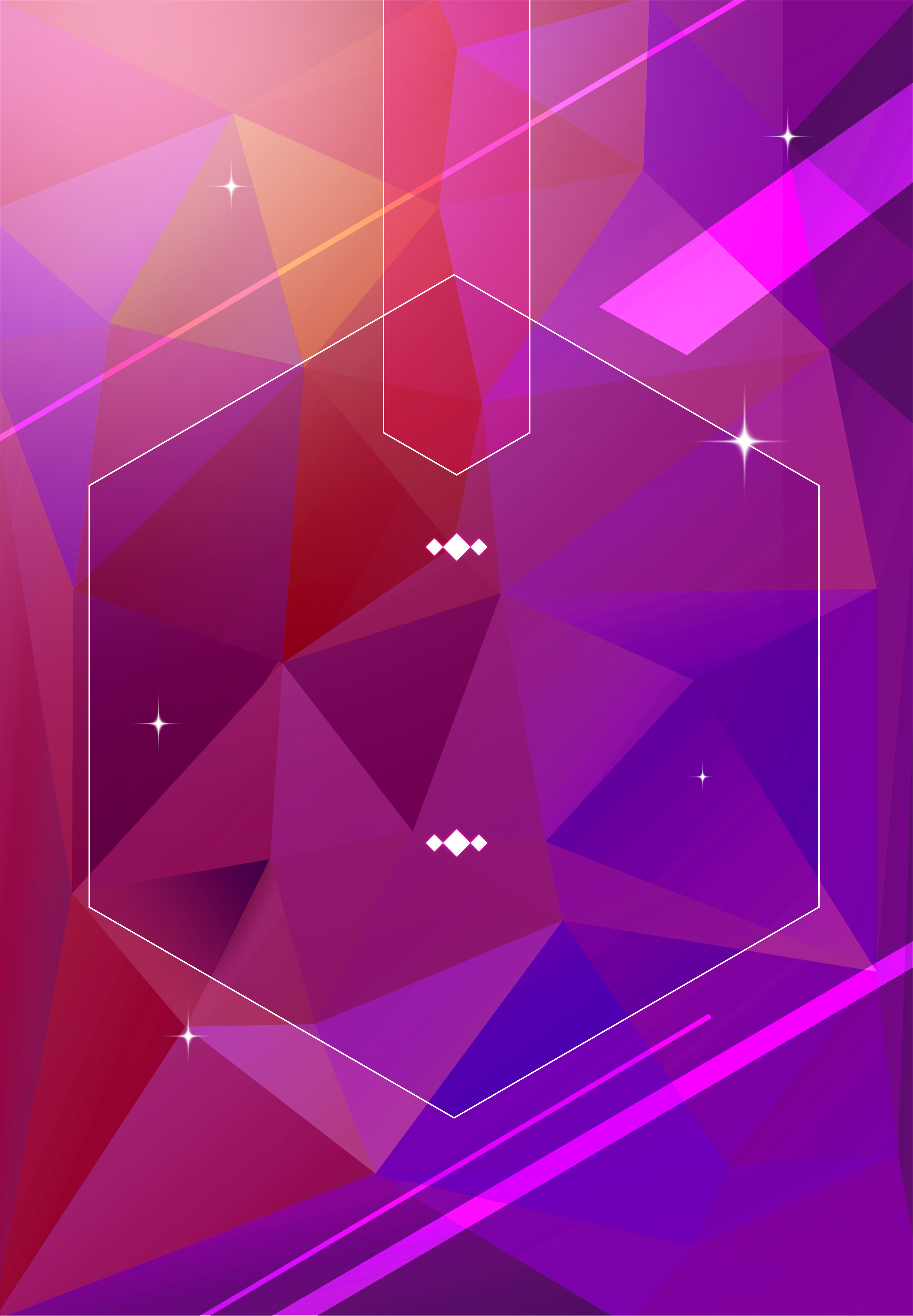 Free Fall Cartoon Wallpaper Promotional Discount Poster Background Gradient Geometry