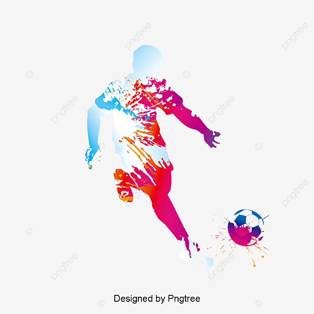 Soccer Player Soccer Clipart Football Shooting PNG