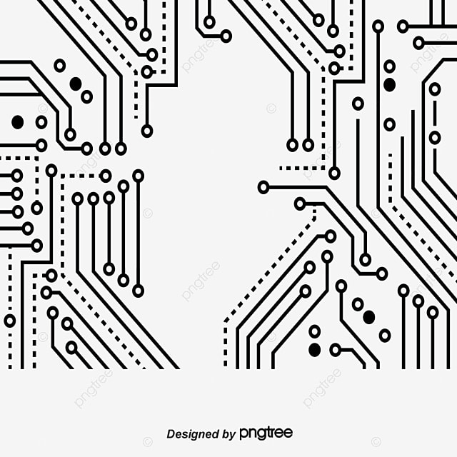 Circuit Board, Circuit Diagram, Motherboard PNG and Vector