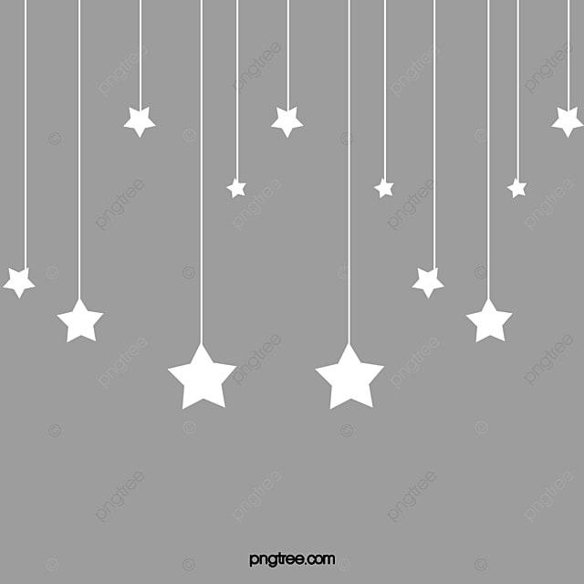 Hanging Stars Png Vector PSD and Clipart With