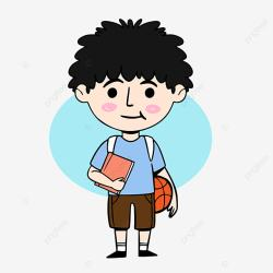 student cartoon clipart characters psd pngtree pic