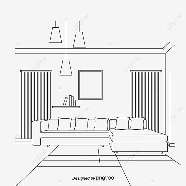Living Room Sketch Sketch Vector Sketch Living Room Png Transparent Clipart Image And Psd File For Free Download