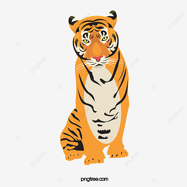 hight resolution of tiger tiger clipart animal png image and clipart