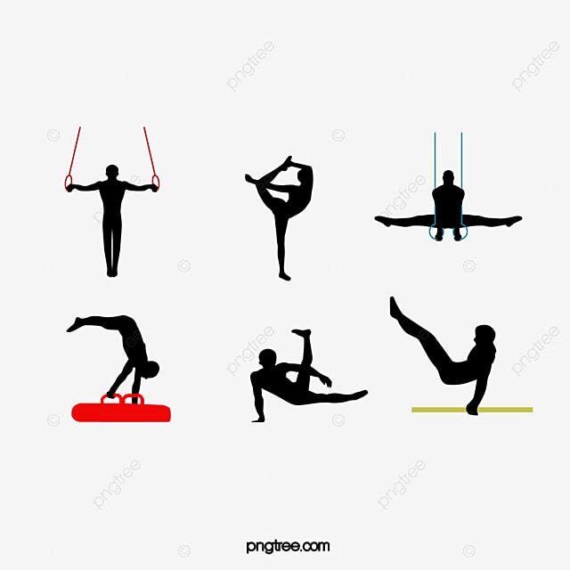 Vector Gymnastics, Side Horse, Gymnastics, Rings PNG and