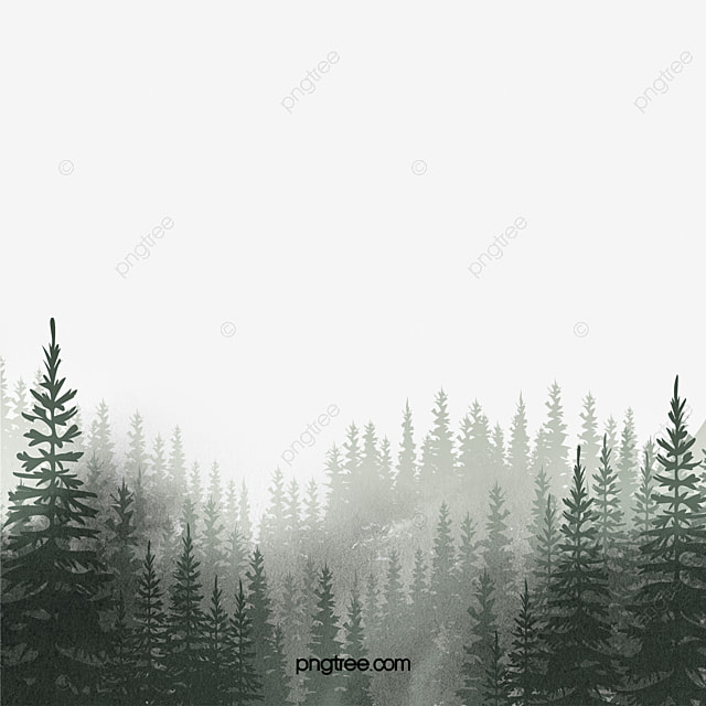 This clip art pack features background scenes from the coniferous or boreal forest biome! Watercolor Woods Watercolor Forest Pine Png Transparent Clipart Image And Psd File For Free Download