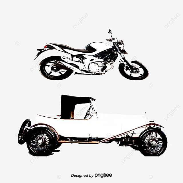 Hand-painted Motorcycles And Cars, Car Material