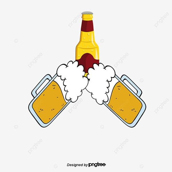 cup of beer clipart