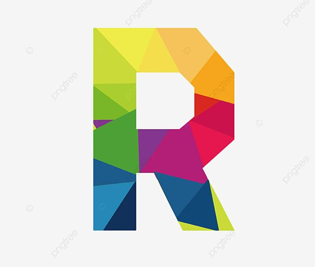 Colorful Letters R Letter Colorful R Png Image And Clipart