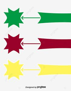 Color flow chart vector information and also rh tree