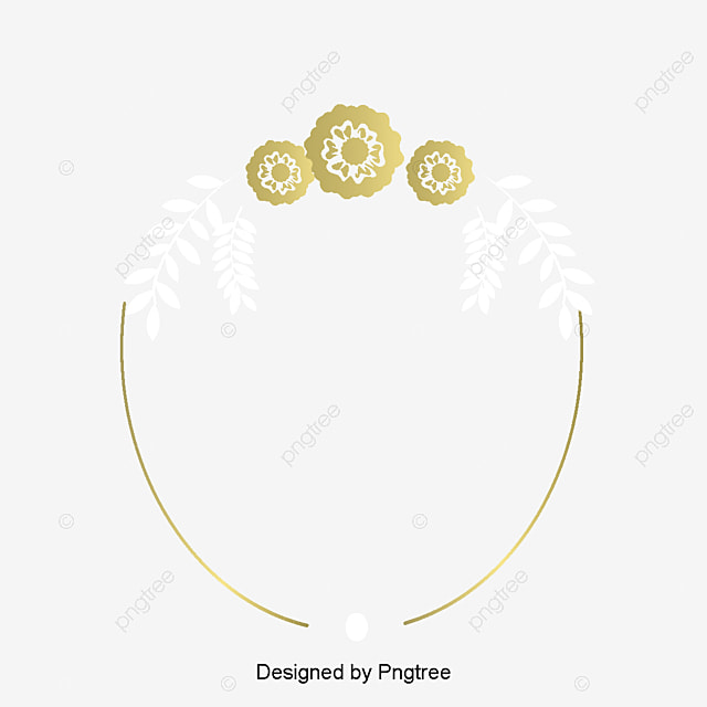 Gold Border Vector Png Wedding Invitation Card Golden Lines Free And