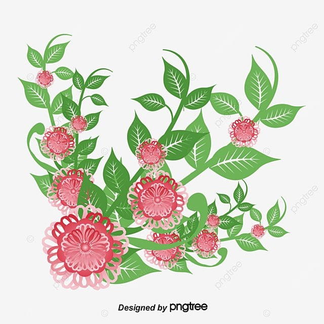 Fall Of The Leafe Wallpaper Romantic Watercolor Flowers Vector Png Flowers In