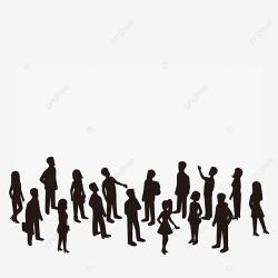 Gallery Exhibition People Silhouette Vector Exhibitions Galleries Gallery Exhibitions Of People Silhouettes PNG and Vector with Transparent Background for Free Download