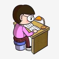 Cartoon Pupil Seriously Writes Homework Png Transparent Bottom Cartoon Student Pupil PNG Transparent Clipart Image and PSD File for Free Download