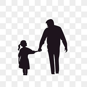 Download Father S Day Telling Daughter Storytelling Illustration ...