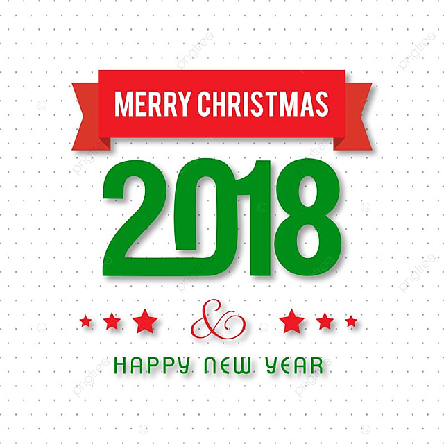 Merry Christmas 2018 Pattern Christmas Card Merry PNG