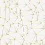 Geometric Golden Abstract Lines Pattern Geometric