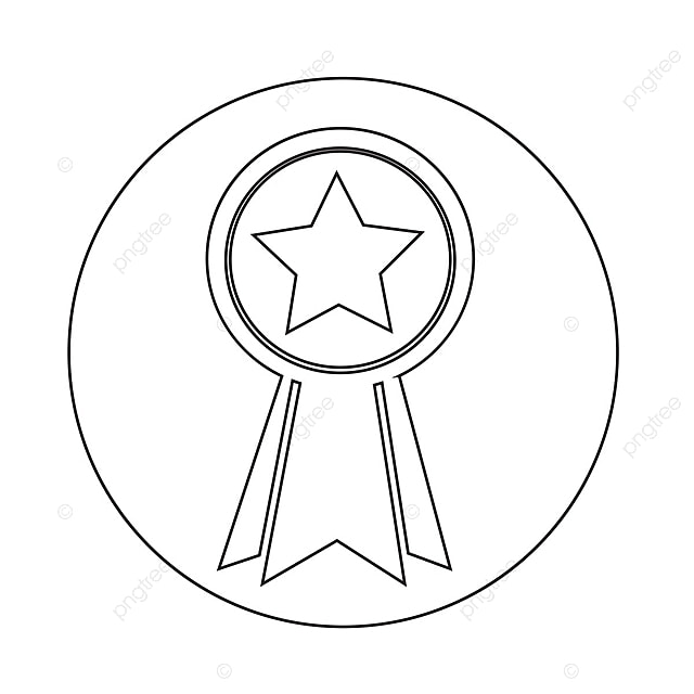 Medal Icon, Achievement, Award, Badge PNG and Vector for