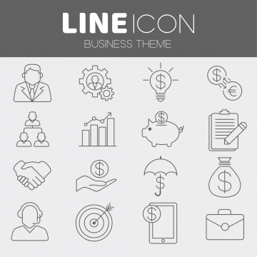 business icons png vector