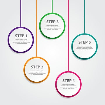 circle infographic png vector