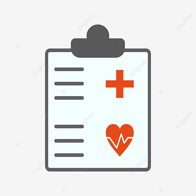 Medical Chart Vector Icon, Medical Document Icon, Medical