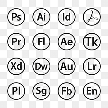 Adobe Icons Png, Vector, PSD, and Clipart With Transparent