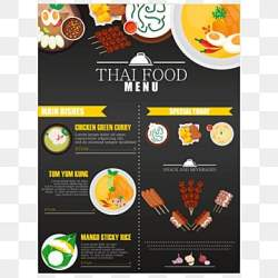 Restaurant Menu PNG Images Vector and PSD Files Free Download on Pngtree