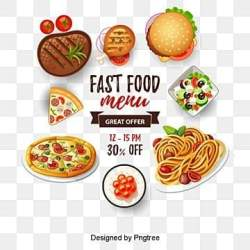 Fast Food PNG Images Vector and PSD Files Free Download on Pngtree