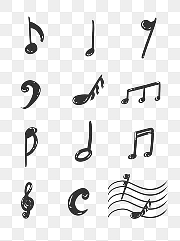 Music Notes Png, Vector, PSD, and Clipart With Transparent