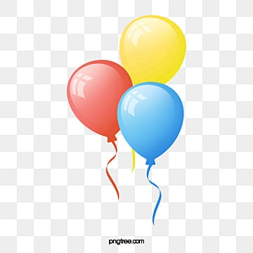 Birthday Balloons Png Images Vector And Psd Files Free