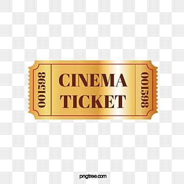 movie ticket png images