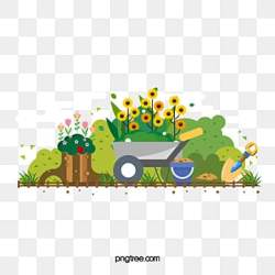 Cartoon Garden Png Vector PSD and Clipart With Transparent Background for Free Download Pngtree